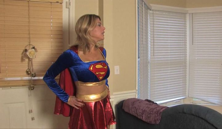 MILF - Supergirl Gets Lex Luthor And Fucks Him Raunchy